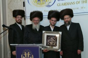 Mr. Yossi Kroen with his family
